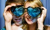 The Party Booth - Calgary: Two- or Three-Hour Photo Booth Rental Package with Unlimited Prints from The Party Booth (Up to 54% Off)
