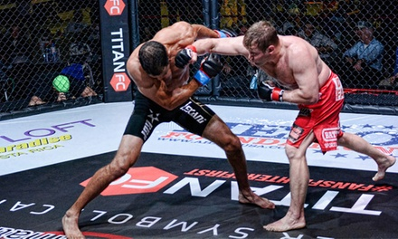 Titan FC 30 Event at Cedar Park Center on Friday, September 26, at 7 p.m. (Up to 43% Off)