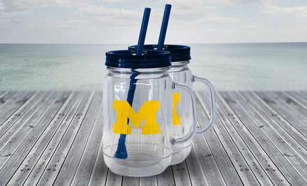 2-Pack of NCAA 20Oz. Tumblers. Multiple Teams Available. Free Returns.