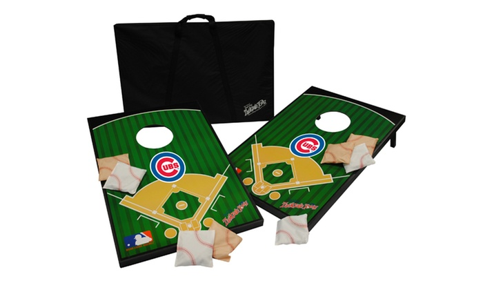 Mlb Tailgate Toss With Case And Bean Bags Deal Of The Day