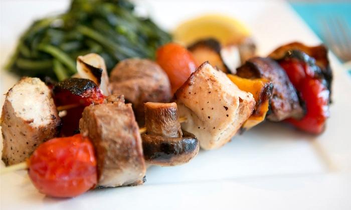 Souvlaki Hut - Multiple Locations: Mediterranean Cuisine at Souvlaki Hut (Half Off)
