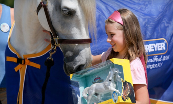 BreyerFest British Invasion - Lexington-Fayette: $15 for One-Day Admission for Two to BreyerFest British Invasion on July 20–22 at Kentucky Horse Park ($30 Value)
