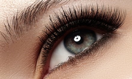 Full Set of Eyelash Extensions with One or Two Fills at The Glamour Studio (Up to 55% Off)