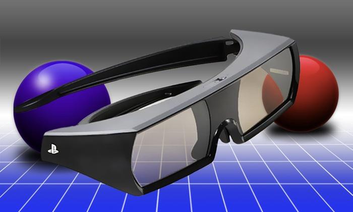 3D Glasses for PlayStation 3