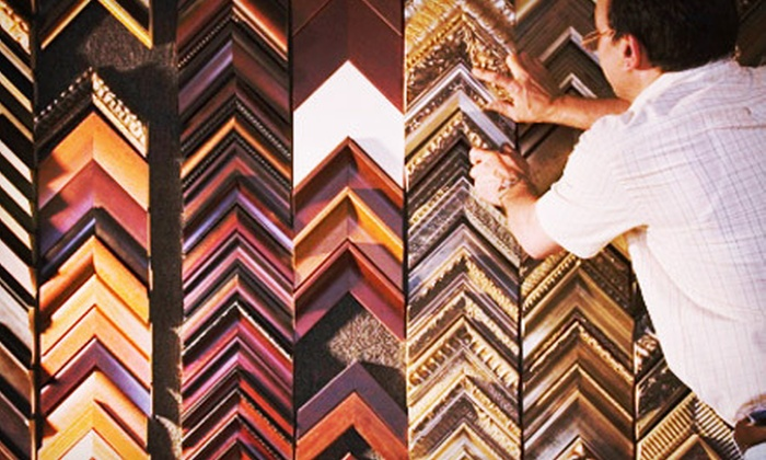 Foursided - Lakeview: $55 for $100 Worth of Custom Framing at Foursided's Lakeview Location