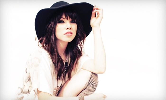Carly Rae Jepsen - PNC Plaza: Carly Rae Jepsen Concert for Two at Musikfest's Sands Steel Stage at PNC Plaza on Friday, August 2 (49% Off)