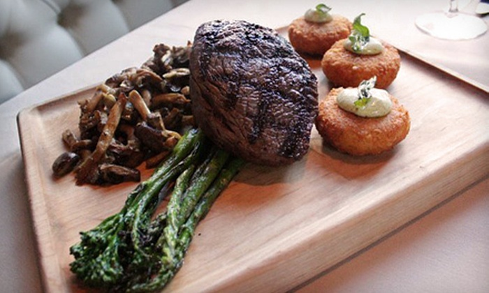 The Brickyard - Downtown,Old Boise Historic District: Steak-House Cuisine for Lunch or Dinner at The Brickyard (Half Off)