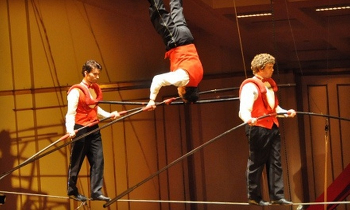 Circus Flora - Grand Center: $26 for Circus Flora for Two at Centene Center for Arts and Education on May 31, June 7, June 14, or June 21 ($52 Value)