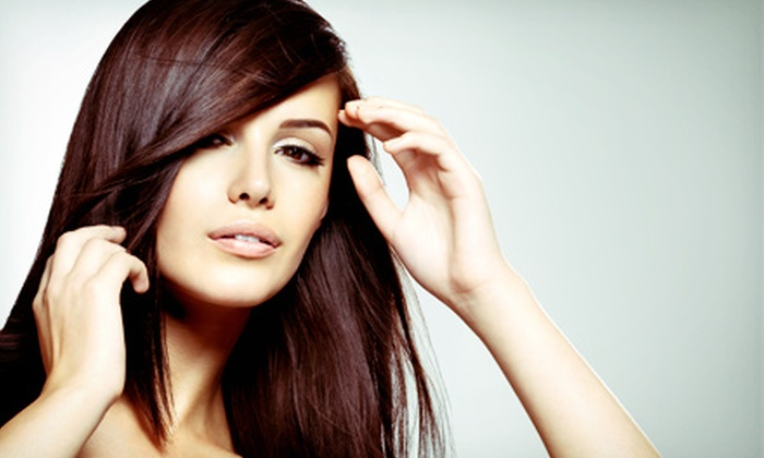 Lipstic Salon & Spa - Mar Vista: Brazilian Blowout with Optional Haircut at Lipstic Salon & Spa (Up to 68% Off)