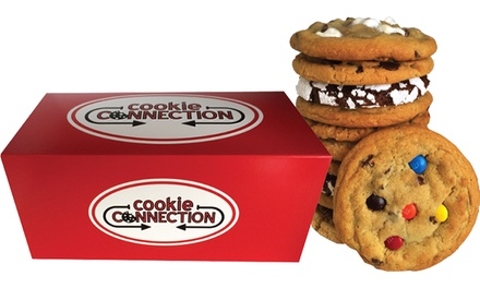 $12 for $24 Worth of Gourmet Cookies and Treats at Cookie Connection