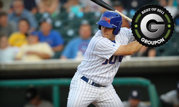Iowa Cubs - Downtown Des Moines: $25 for 10 General Admission Tickets to Iowa Cubs Baseball at Principal Park ($50 Value)