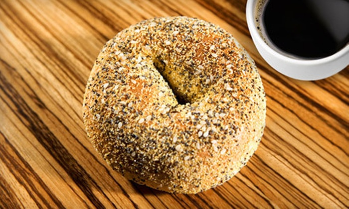 Bagel Broker - Mid-Wilshire: $10 for $20 Worth of Bagels, Breakfast, and Deli Food or $22 for Catered Breakfast for 10 from Bagel Broker