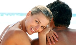Beach Bunnie Tanning: Three or Five Custom Airbrush Tans at Beach Bunnie Tanning (Up to 71% Off)