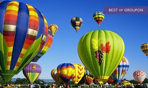 Wine Country Balloons: $197 for a Hot Air Balloon Flight for One with Champagne Toast from Wine Country Balloons ($235 Value)