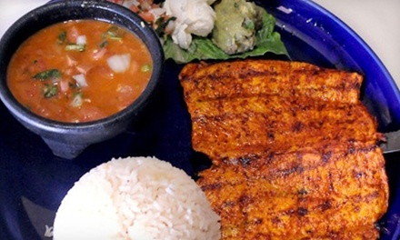 Mexican Food at Guadalajara Cafe (45% Off). Two Options Available.