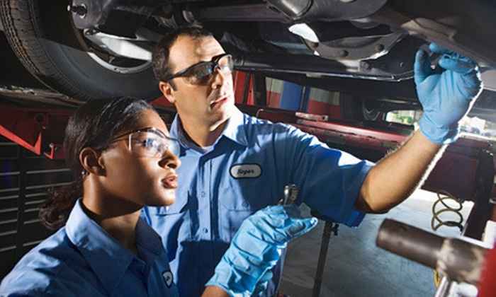 Capitol Auto Land - Arlington: One or Two Oil-Change Packages with Tire Rotation and 25-Point Inspection at Capitol Auto Land (Up to 80% Off)