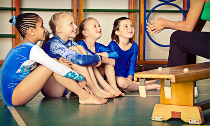 Stow Gymnastics Center - Stow: Eight Weekly Gymnastics Classes for Ages 3–4 or 5–18 at Stow Gymnastics Center (Up to 53% Off)