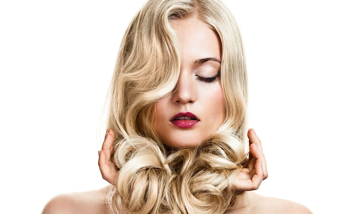 Scruples Salon & Spa - Glenview: Haircut, Conditioning, & Color or Highlight Packages at Scruples Salon & Spa (Up to 57% Off). 2 Options Available