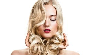 Scruples Salon & Spa: Haircut, Conditioning, & Color or Highlight Packages at Scruples Salon & Spa (Up to 57% Off). 2 Options Available