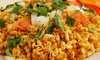 Bollywood Tadka - East Brunswick: Indian Dinner for Two at Bollywood Tadka (Half Off). Two Options Available.