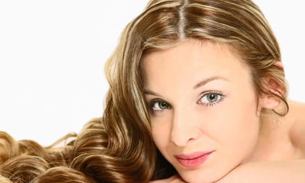 Haircut with Deep Condition, Partial Highlights, or Full Highlights at Salon Loft Studio #4 (Up to 56% Off)
