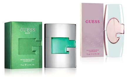 Guess Eau de Toilette for Men or Guess Eau de Parfum for Women; 2.5 Fl. Oz.