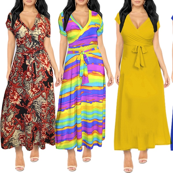 Up To 71% Off on Women\'s Plus Size Maxi Dress | Groupon Goods