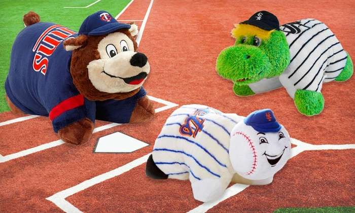 MLB Mini Pillow Pets: $12.99 for an MLB Mini Pillow Pet ($27.99 List Price). Multiple Teams Available. Free Returns.