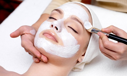 Facial with Optional Brow Wax and Eye Rescue Mask Treatment at Ossia Salon and Spa (Up to 58% Off)
