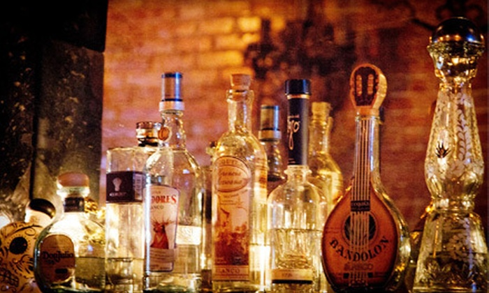 Classic Tequila Tasting for Two or Four or Premium Tequila Tasting for Two, Four or Ten at L'Scorpion Tequila Bar (Up to 64% Off)
