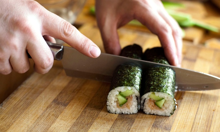 Sushi Academy in Tennessee - Guest House Inn / Eco Lodge Dining Room: $50 for Two-Hour Sushi-Making Class for Two at Sushi Academy ($100 Value)
