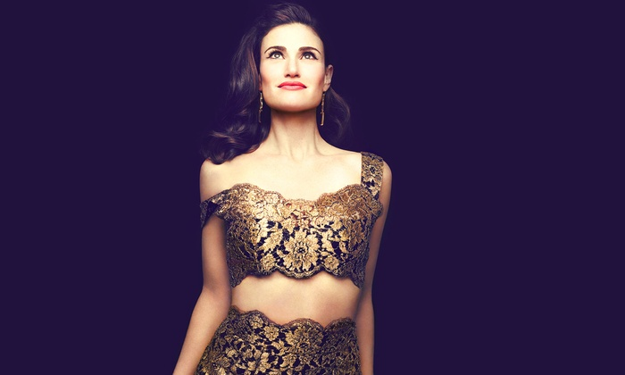 Idina Menzel - Concord Pavilion: Idina Menzel: World Tour at Concord Pavilion on Friday, August 7, at 8 p.m. (Up to 41% Off)