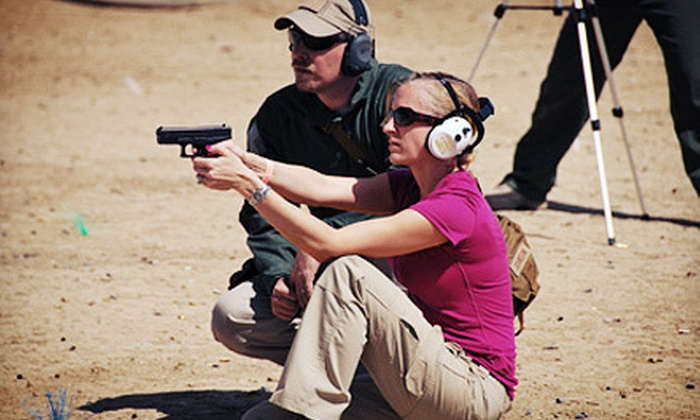 Umbrella Tactics - Elsmere: Firearm-Training and Gun-Safety Class or Concealed-Weapon-Permit Class for One or Two at Umbrella Tactics (Half Off)
