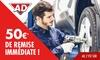 Bon d'achat dans les garages AD - Entretien et Réparation Auto