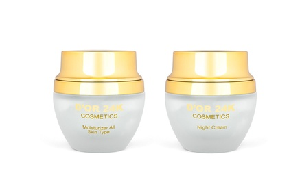 D'or 24K Day Moisturizer with SPF 15, Night Cream, or Both from $21.99–$42.99