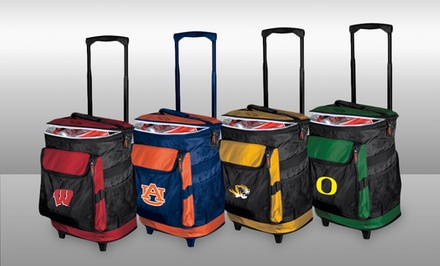 NCAA Rolling Cooler. Multiple Teams Available.