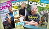 "Cesar's Way: One- or Two-Year Subscription to ""Cesar's Way"" from Blue Dolphin Magazines (Up to 51% Off)"