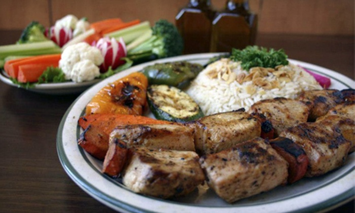 Sheshco Mediterranean Grill - Grand Rapids: $10 for $20 Worth of Mediterranean Cuisine at Sheshco Mediterranean Grill