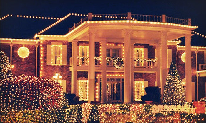 JD's Lawns and Landscapes Oklahoma City - Oklahoma City: Holiday-Lights Package from JD's Lawns and Landscapes Oklahoma City (Up to 61% Off). Three Options Available.