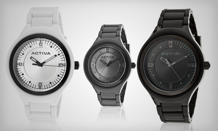 Activa by Invicta Unisex Watches: $16.99 for an Activa by Invicta Unisex Watch ($125 List Price). Multiple Designs Available. Free Shipping and Returns.