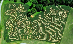 Eliada's Annual Corn Maze: Eliada's Annual Corn Maze for Two, Four, or Six (Up to 40% Off)