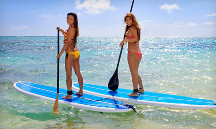 Long Island Stand-Up Paddle Boarding Co. - East Patchogue: Standup-Paddleboarding Class for One or Two from Long Island Stand-Up Paddle Boarding Co. (Up to 59% Off)