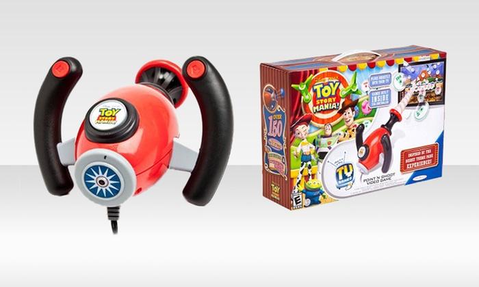 Disney Toy Story TV Video Game: Disney Toy Story Mania Plug 'n' Play TV Video Game. Free Returns.