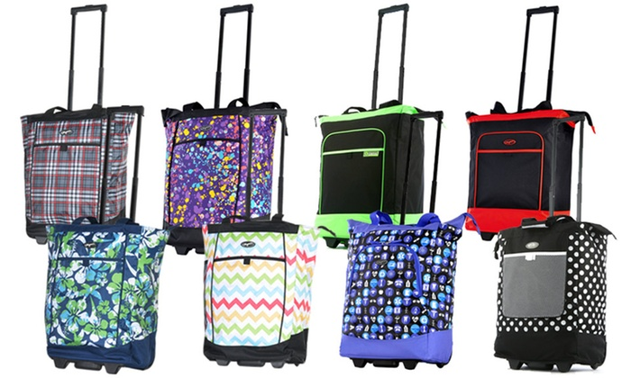 Olympia USA Rolling Shopper Tote | Groupon