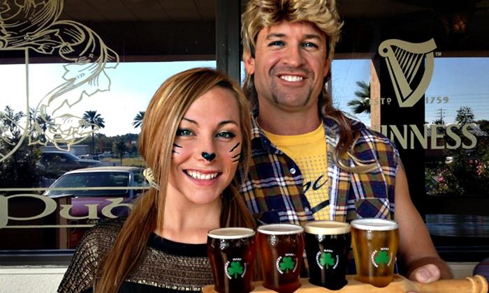 Culhane's Irish Pub - Atlantic Beach: Beer Flight for Two or Four at Culhane's Irish Pub (Up to 54% Off)