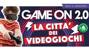Game On 2.0 - mostra del videogioco, Roma: Game On 2.0 : La Città dei Videogiochi - fino al 4 giugno allo Spazio Tirso di Roma (sconto fino a 56%)