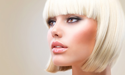 Haircut Package with Optional Partial Highlights or Color at Chez Cheveux, Salon Excellence (Up to 53% Off)