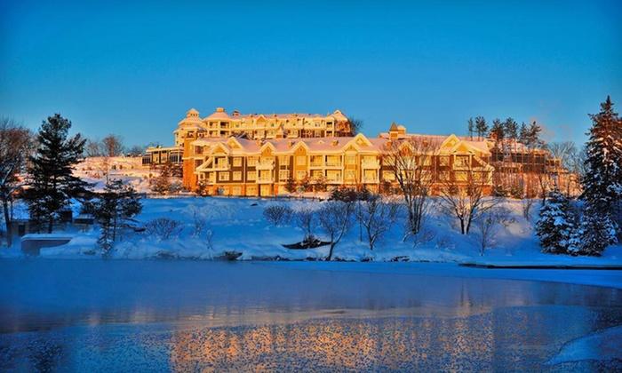 The Rosseau Muskoka - Minett: One- or Two-Night Stay at JW Marriott The Rosseau Muskoka Resort & Spa in Minett, Ontario