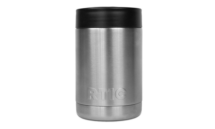 Stainless Steel Can Cooler ~ Rtic stainless steel can cooler set of groupon