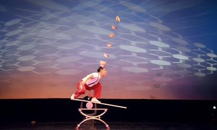 Amazing Acrobats of Shanghai at New Shanghai Theatre through December 31 (Up to 49% Off)